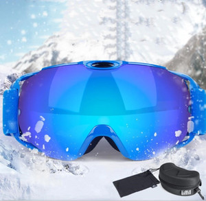Professional Ski Sunglasses Men Ski Goggles Anti Fog Glasses Motorcycle Glasses Outdoor Sports Windproof Glasses Eyewear for Men Women