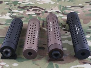 KAC PDW QD Filetto negativo da 14 mm Freno per museruola con kit QD Flash Hider per giocattoli M4 AR15 556 Stampo
