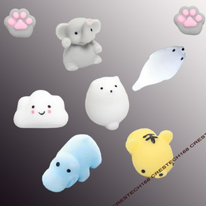 Squishy Lento Rising Jumbo Toy Bun Toys Animali Cute Kawaii Spremere Giocattoli Cartoon Mini Squishies Gatto coniglio sigillo panda Moda bambini Regali