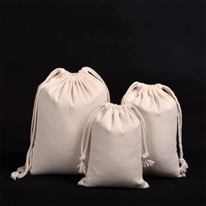 Baumwollleinentragetasche beweglichen im Freien Reisen Schmuck Spielzeug-Segeltuch-Speicher-Beutel Hochzeitsfestbevorzugung Süßigkeit Sack 4 2ss7 YY