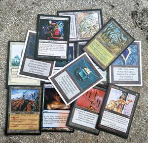 TCG 108 pcs / 54 pçslote os cartões para o jogo de tabuleiro DIY cartões de versão Em Inglês 63 X 88 fosco colecionáveis cartões Personalizados jogos de tabuleiro de Negociação