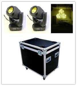 4 pièces american dj tête mobile Phares super-zoom de faisceau LED se déplaçant spot de tête RVBB 200 watt led tête mobile lumière disco avec étui