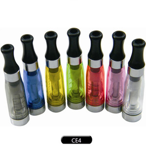 CE4 Clearomizer A Cartomizer ce5 ce6 tank 1.6ml Vaporizer for ego-t ego-k battery e cigarette starter kits 8 colors ego DHL