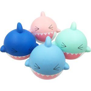 10 Stücke 18 cm kawaii Squishy Jumbo Shark Face Charms Squishy Langsam Steigenden Stress Relief Spielzeug Squeeze Phone strap Squish kid Juguetes