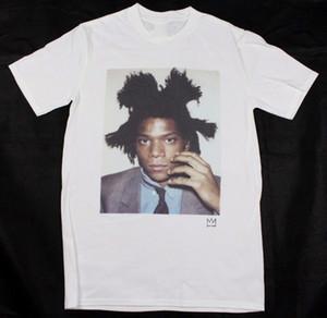 Jean-Michel Basquiat T-Shirt blanc S-XXXL art pop warhol abstrait keith haring 100% coton T-shirt à manches courtes et manches courtes