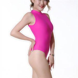 (MS055) Mujeres lycra nylon catsuit sexy mono traje de baño fetiche zentai traje