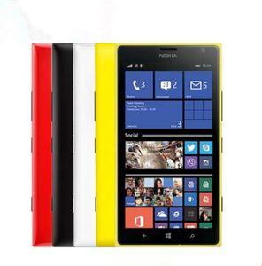 원래 잠금 해제 Nokia Lumia 1520 Windows 8 쿼드 코어 2GB RAM + 32GB ROM 3G 4G 6 인치 무료 배송 Nokia Lumia 1520 리퍼브 상품