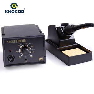 Knokoo de haute qualité Station de soudage électrique Fer à souder Eruntop 936 avec la température station de soudage et une éponge claire