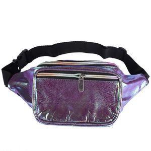 Novos Pacotes de Cintura de Fanny Laser Cintura Heuptas Saco de Quadril das Mulheres Cintura Banana Sacos de bolsa de Cintura Unisex bolsa cintura
