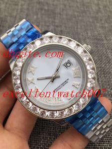 Five colori caldi di vendita superiore qualità Asia Movimento 2813 41 millimetri DAY-DATE presidente diamante romano quadrante 225235 Automatic Watch Mens