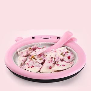 2018 Macchina per gelato alla yogurt fritta Macchina per gelato tailandese Snack per bambini