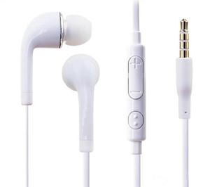 S4 S6 j5 Casques stéréo dans l'oreille avec microphone et contrôle du volume Casque pour Samsung Galaxy Universal pour les téléphones Android iphone 2pc