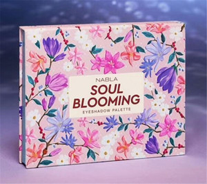 Newest makeup NABLA SOUL Blooming 12colors Eyeshadow Palette Shimmer Matte Eye Shadow High quality drop shipping