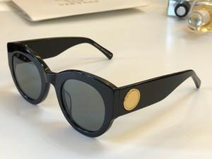 Роскошные Женские Дизайнерские Солнцезащитные Очки 4353 Очаровательные Кошачий Глаз Рамка Простые Популярные Солнцезащитные Очки Защита от УФ-лучей Открытый Высокое Качество С Чехлом