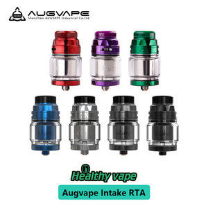100% original Augvape Intake RTA Capacity 4.2ML 24mm Diameter Leak Proof Bottom Airflow Direct To The Coil