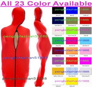 Unisex Mummy Sleeping Bags костюмы Sexy 23 Цвет Lycra Spandex Мумия костюм костюмы с внутренней Arm рукава мужской костюм мумии Outfit P157