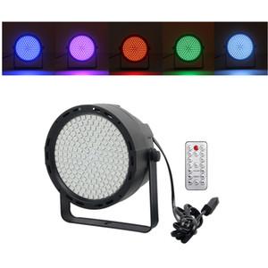 169 pz Leds RGB Colorful Mini Par Lamp Luci da palcoscenico Remote Disco DJ Bar effetto Party Show Home Club DMX Strobe Illuminazione a LED effetto