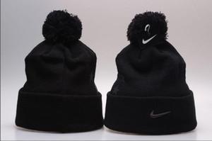2019 새로운 저렴한 겨울 모자 도매 스포츠 비니 니트 모자 캐주얼 Beanies 해골 모자 남성 여성 gorros bonet skullies cap