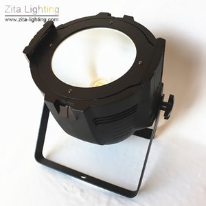 Zita Lighting LED Par Lights COB Stage Lighting Par Cans 200W 2IN1 WW WH DMX512 Building Trusses Wall Washer Disco Concert Party Effect