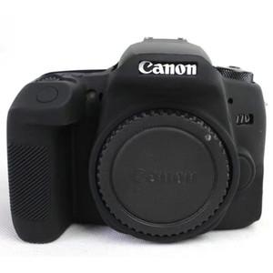 캐논 EOS 77D에 대 한 높은 품질 다채로운 실리콘 카메라 커버 캐논 77 D SLR 카메라 케이스 가방에 대 한 부드러운 고무 카메라 케이스 스킨