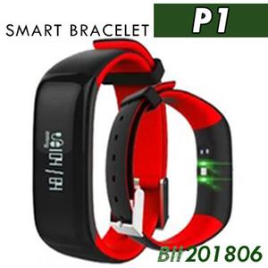 20X P1 Moniteur de pression artérielle Smartband Bande à puce Podomètre Activité Tracker Moniteur à Pouls Bracelet Fitness Bracelet Pour Téléphone