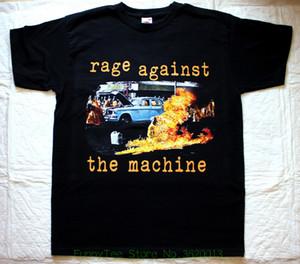 Rage Against The Machine Ratm&#039 ; 92 Discount Wholesaleoslave Lock Up Clawfinger New Black T-shirt