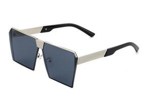 Großhandelsfrauen und Mann Brach Entspiegelung Full Frame Subglasses mischen Farben Aduct Adultral Sonnenbrille Square Casual Fsahion UV400 Glas