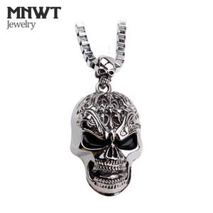 MNWT La EuropeUnited Punk Style Crâne Pendentif Colliers Non-mainstream De La Mode Homme Collier Halloween Cadeau Bijoux Sautoir