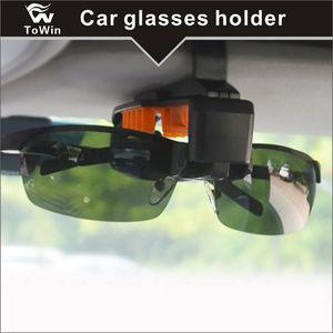 Carro Sun Visor, Lenmumu Universal Car Óculos Óculos De Sol Titular Caixa De Armazenamento Caixa de Óculos Caixa de Olho com o Titular do Cartão para o Sunvisor