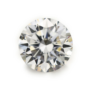 100pcs 5A Grade White 0.8~1.7mm Cubic Zirconia Stone Round Cut Loose CZ Stone Synthetic Gems