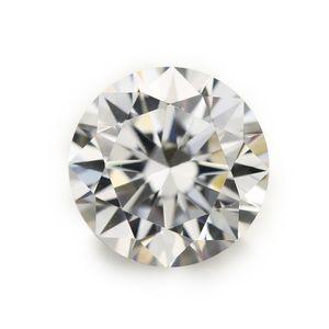 100pcs 5A Grau Branco 0,8 ~ 1,7 mm cúbicos de zircônia pedra gemas sintéticas redondo soltar pedra CZ