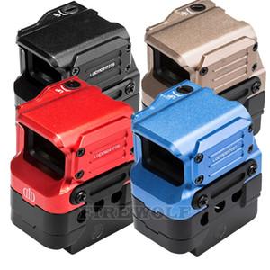 Высококачественный оптический прицел DI FC1 Red Dot Sight Reflex Sight с голографическим прицелом для 20 мм рельс черный