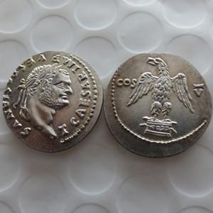 RM (31) Ancient Roman -76 monedas Retail / Whole Sale Envío gratis Promotion Cheap Factory Price nice home Accessories Silver