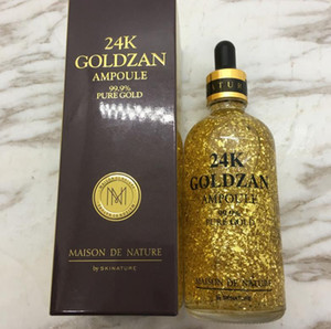 Skinnut 24 k Goldzan Ampola 24 K Creme Para o rosto Creme para a pele Essência Óleos para o Soro anti-oxidante Primer Rosto Cuidados Com A Pele CZ31