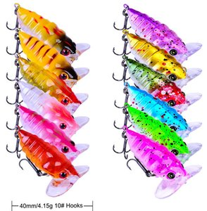 12 Pcs lot Popper Fishing Lure Cicada Bait Tackle 3.5cm 4g Poper Insect Bionic Bait Fishing Tackle Ocean Artificial Fish Baits Whole Sale