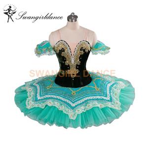Raymonda Classical Ballet Tutus Aqua Princess Florina Profesional Pancake Tutu Girls Adult Ballet Profesional Tutus Verde BT9090