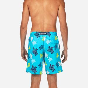 Vilebre été Boardshorts Plavky 3D print shorts de plage hommes natation poches hommes troncs maillot de bain gymnase bermudas