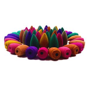 5 adet 25pcs 45pcs 65pcs Doğal Tütsü Duman Backflow Tütsü kokulu Sandal Ağacı Tibet Koniler S $