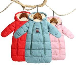Épaissir l'hiver bébé barboteuses combinaison bébé vêtements combinaison nouveau-né fille garçon bas coton Snowsuit infantile neige usure