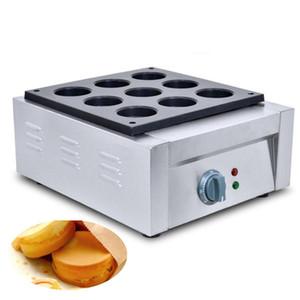 Qihang_top 9 лунок Электрический чайник Obanyaki Цена Коммерческая антипригарным Красная фасоль торт Maker машина для продажи