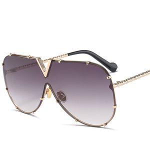X907 Óculos De Sol Piloto Mulheres Marca Designer Homens Luxo Espelho Óculos De Sol V Oversize Limpar Feminino 2018 Óculos De Sol De Vidro Feminino Flat Top