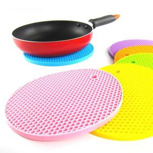 Masa Silikon Ped Silikon kaymaz Isıya Dayanıklı Mat Coaster Yastık Placemat Pot Tutucu Mutfak Aksesuarları Pişirme Aletleri