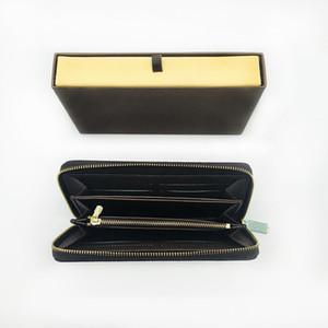Wholesale klassische Standardmappe für Männer Art und Weise damier lange Geldbeutel moneybag Mäppchen Münzfach Scheinfach Veranstalter Portemonnaie