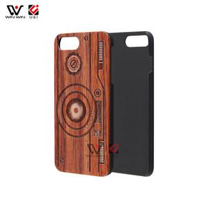 Mandala llena de láser madera graba las cajas del teléfono celular para el iPhone 6 7 8 X 11 XR XS Pro