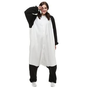 Chino Panda Mujeres y Hombres Animal Kigurumi Polar Fleece Traje de Halloween Carnaval Fiesta de Año Nuevo de bienvenida Envío de la gota
