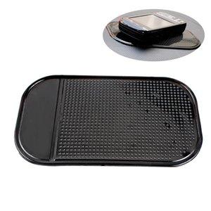 3 pçs / lote venda quente preto de espuma de plástico antiderrapante traço mat adesivo traço de silicone tapete do carro dashboard pad pegajosa para telefone gps # hp
