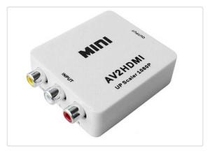 جديد USB البسيطة AV2HDMI فيديو محول CVBS محول محول 720P / 1080P UFS مع مربع البيع بالتجزئة