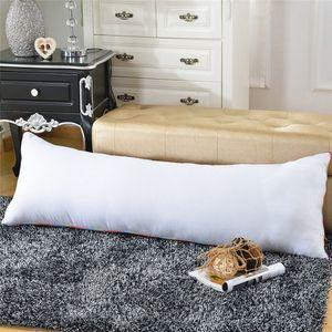 Decorative Pillows 150*50cm/60*170cm/40*60cm/34*100cm Dakimakura Anime Hugging Long Pillow Inner Body Cushion White Sleep Pillow