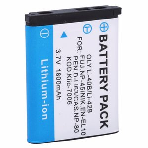atteries Digital atteries HITY 1PCS High quality 1800mah -42B -40B 42B 42B 40B Camera Battery for OLYMPUS U700 U710 FE230 FE340