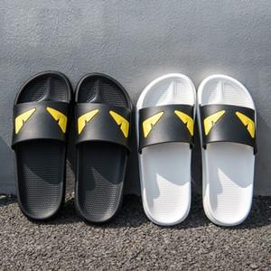 Chinelos de olho do diabo Deslizamento Designer de Praia Chinelos Perseguição Sandálias De Cetim Das Mulheres Dos Homens de Luxo Sapatos Moda Casual Chinelos Chinelo